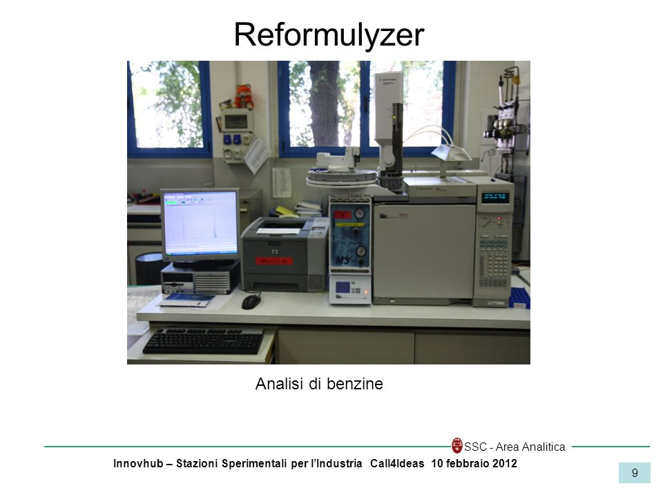 Reformulyzer Analisi di benzine