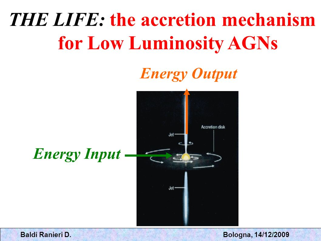THE LIFE: the accretion mechanism for Low Luminosity AGNs