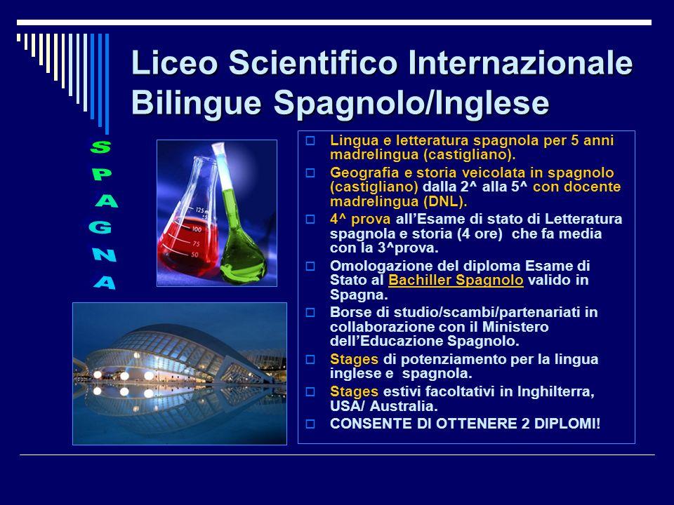 Liceo Scientifico Internazionale Bilingue Spagnolo/Inglese