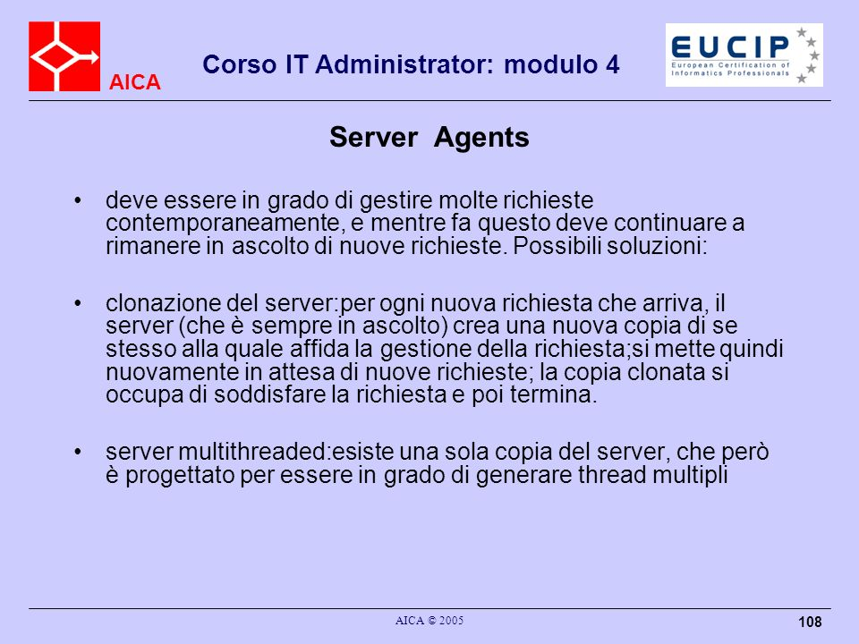 Server Agents