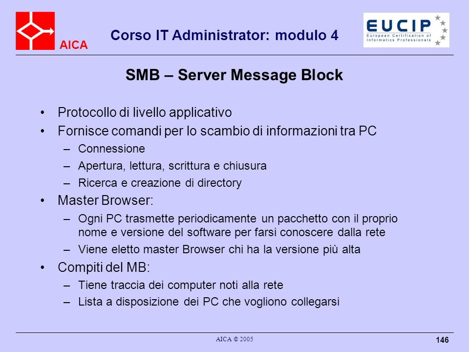 SMB – Server Message Block