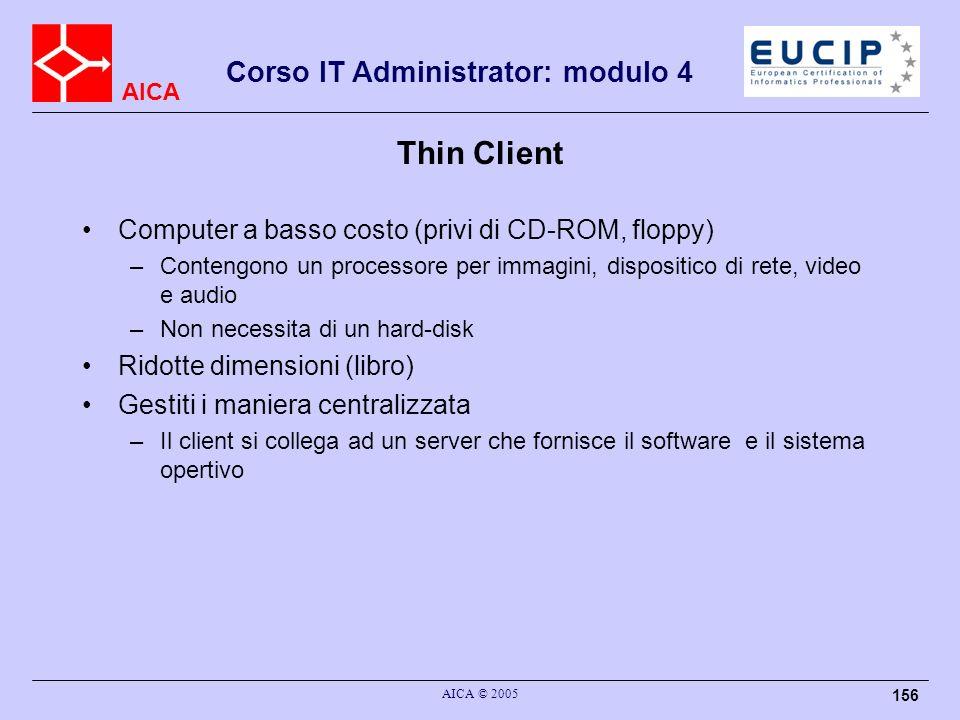 Thin Client Computer a basso costo (privi di CD-ROM, floppy)