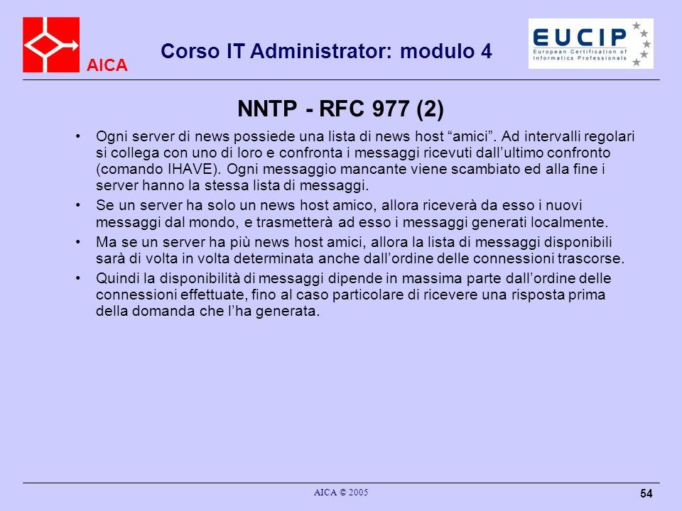 NNTP - RFC 977 (2)