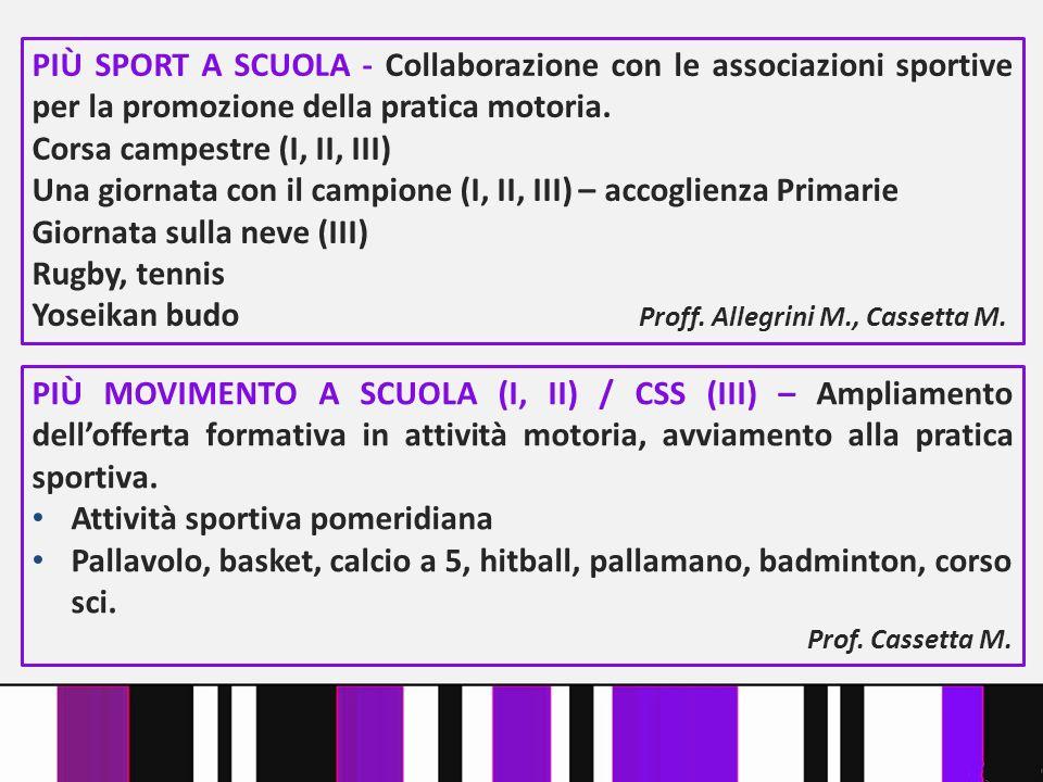 Corsa campestre (I, II, III)