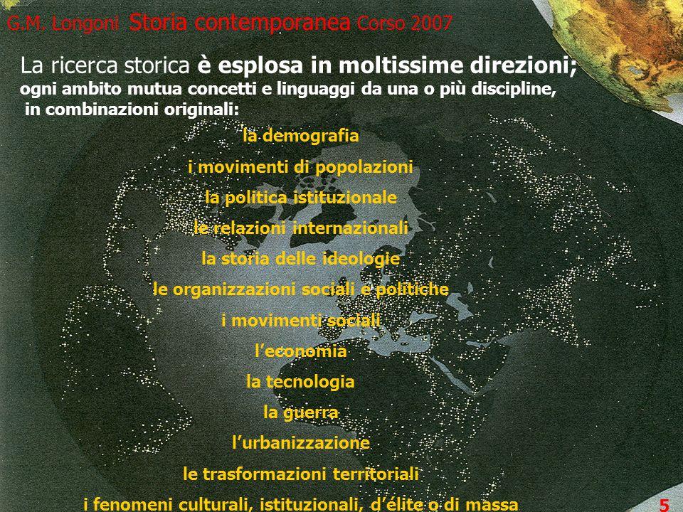 G.M. Longoni Storia contemporanea Corso 2007