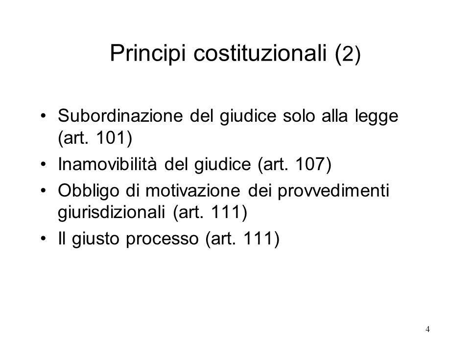 Principi costituzionali (2)