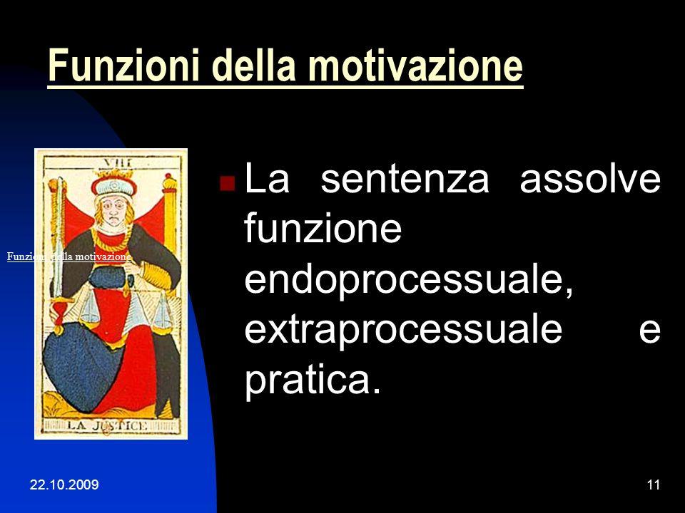 Funzioni della motivazione