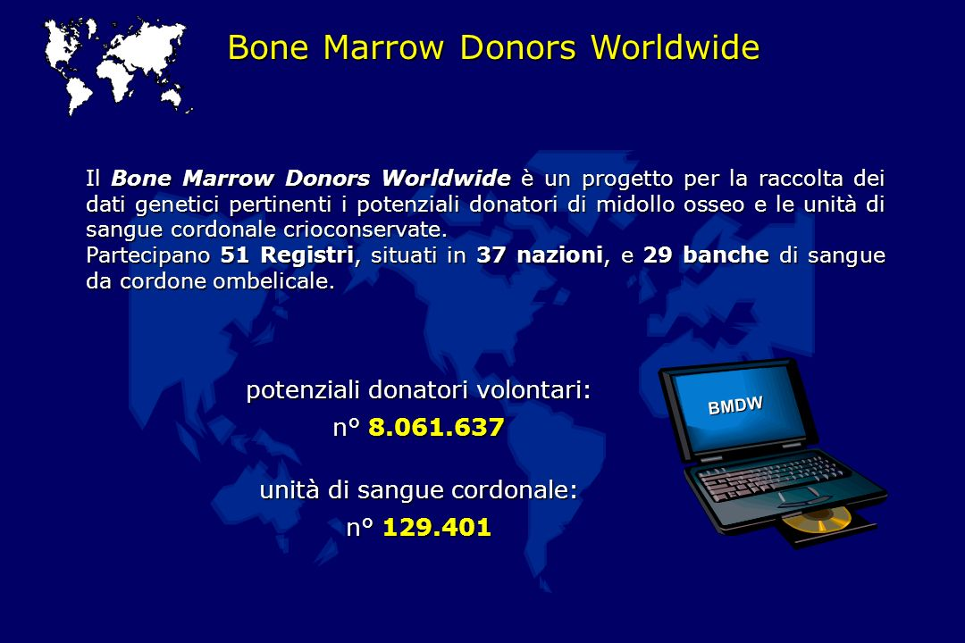 Bone Marrow Donors Worldwide