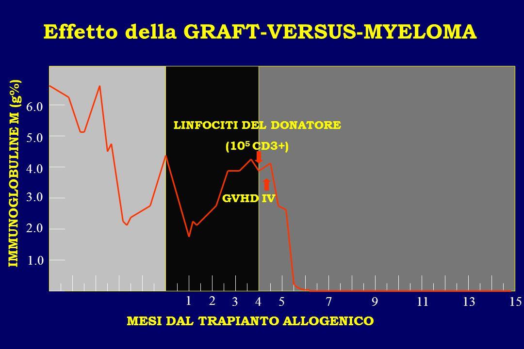 Effetto della GRAFT-VERSUS-MYELOMA