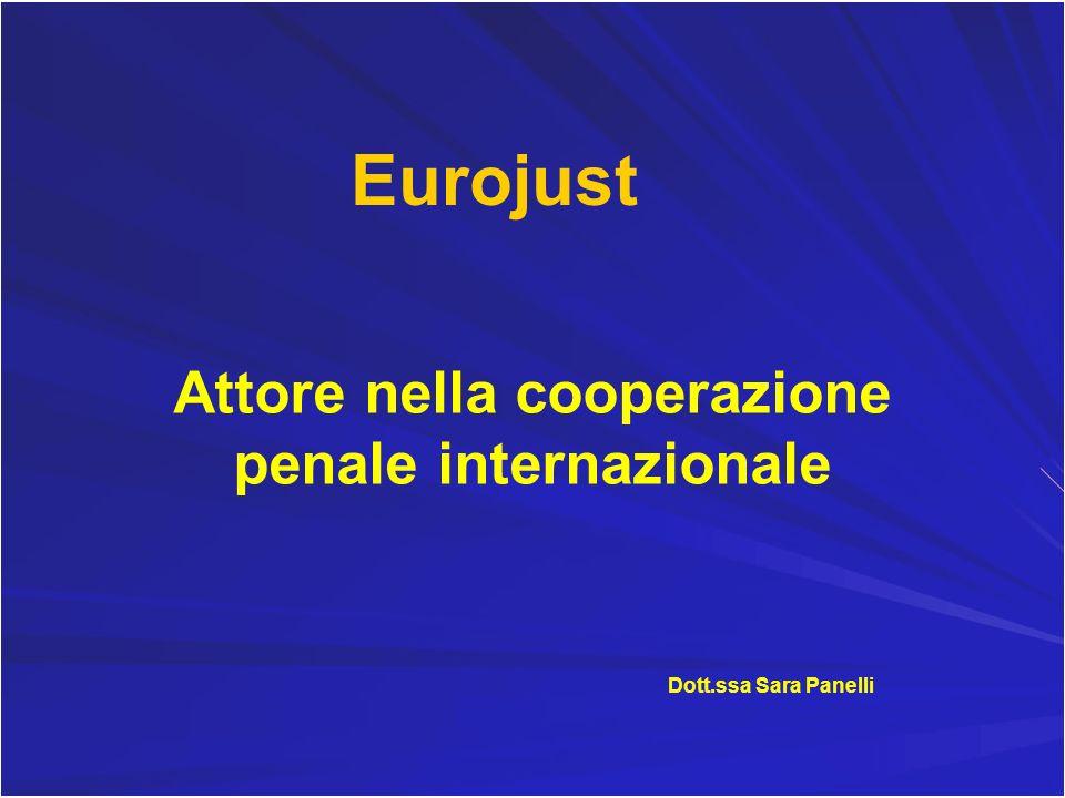 Attore nella cooperazione penale internazionale