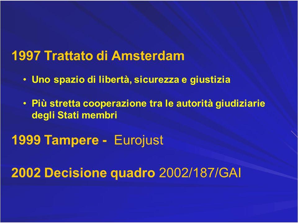 2002 Decisione quadro 2002/187/GAI