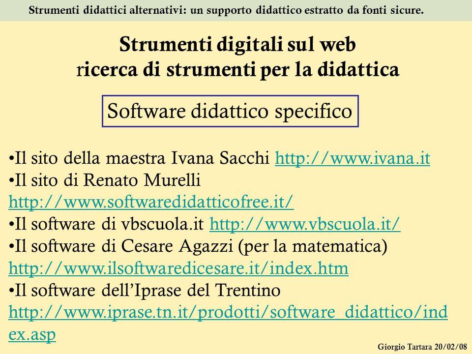 Strumenti digitali sul web ricerca di strumenti per la didattica
