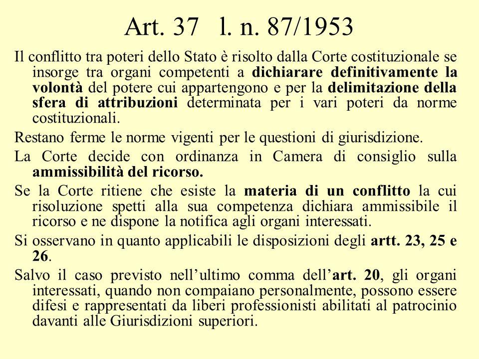 Art. 37 l. n. 87/1953