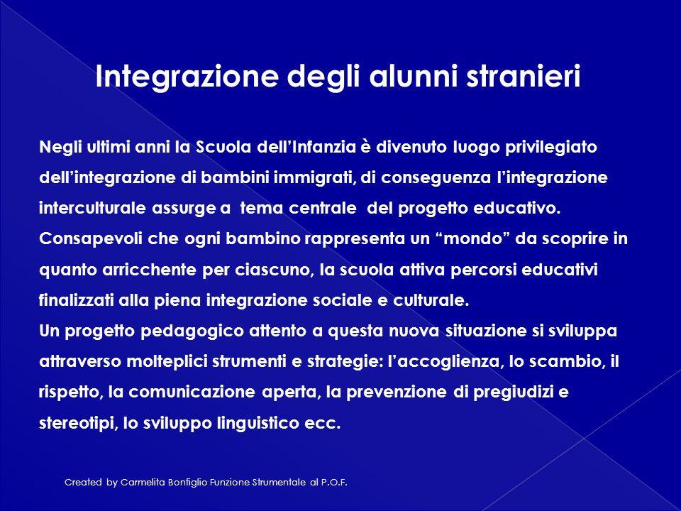 Integrazione degli alunni stranieri