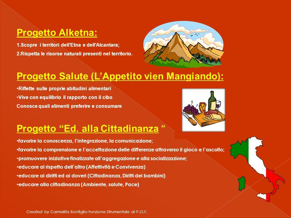 Progetto Salute (L'Appetito vien Mangiando):