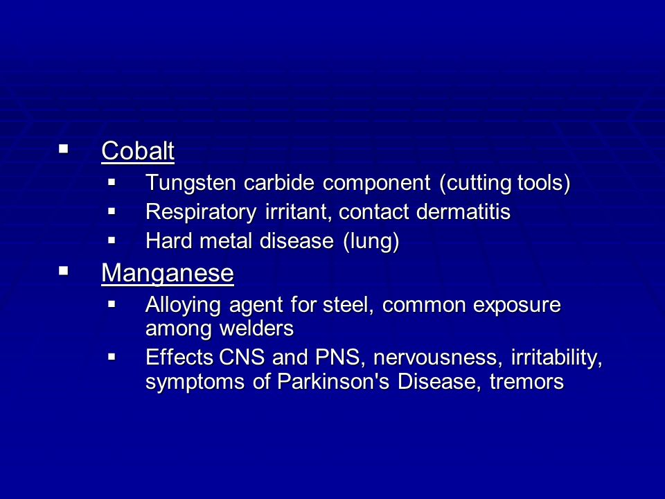 Cobalt Manganese Tungsten carbide component (cutting tools)