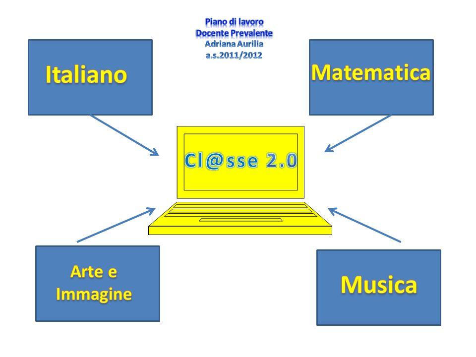 Italiano Musica Matematica Cl@sse 2.0 Arte e Immagine Piano di lavoro