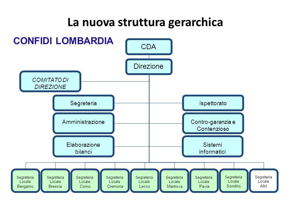 La nuova struttura gerarchica