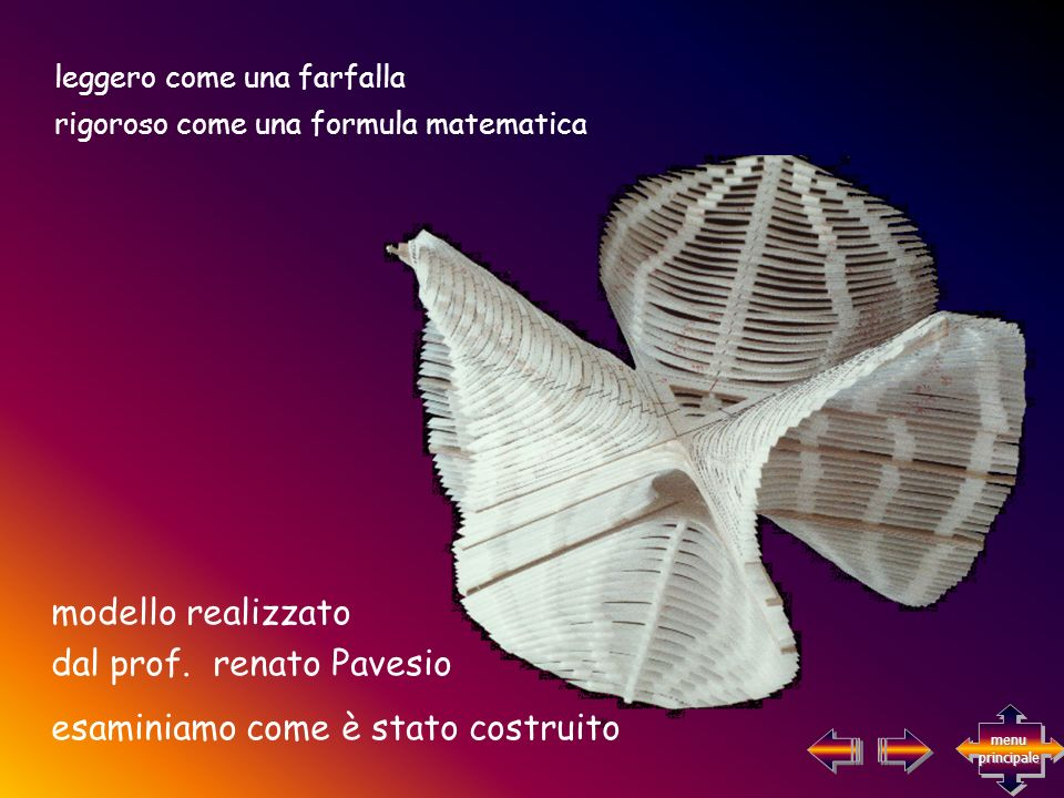 dal prof. renato Pavesio