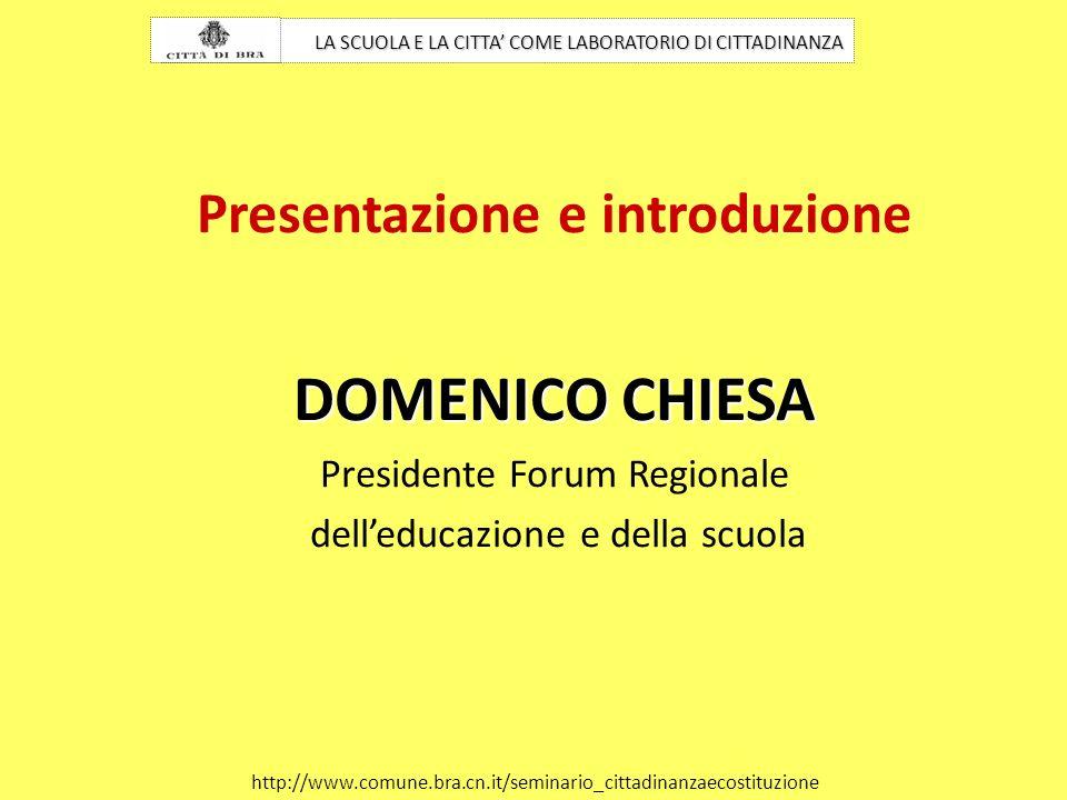 Presentazione e introduzione