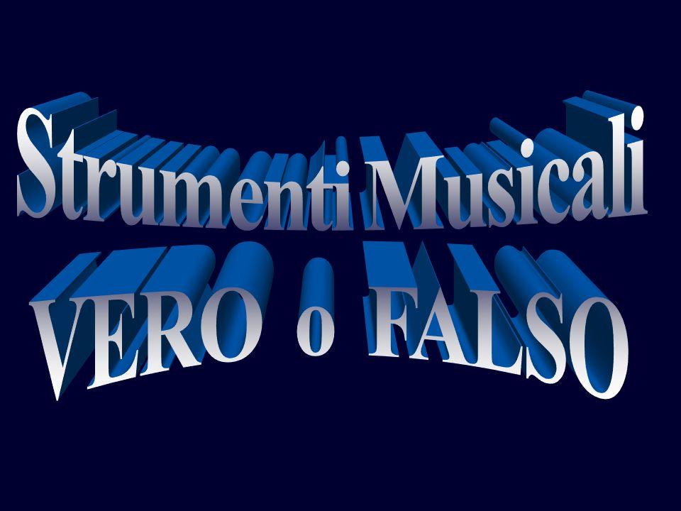 Strumenti Musicali VERO o FALSO