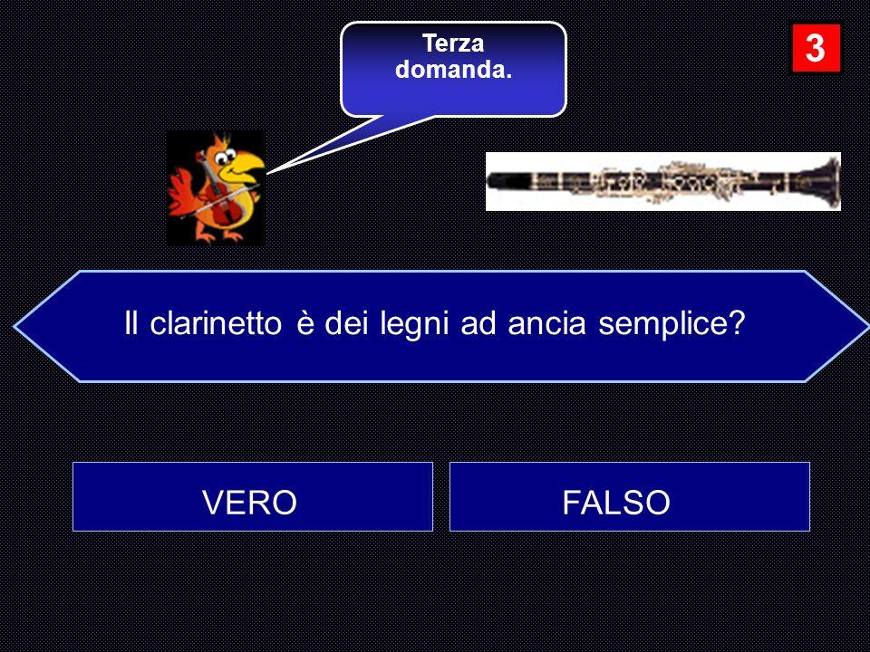 Il clarinetto è dei legni ad ancia semplice