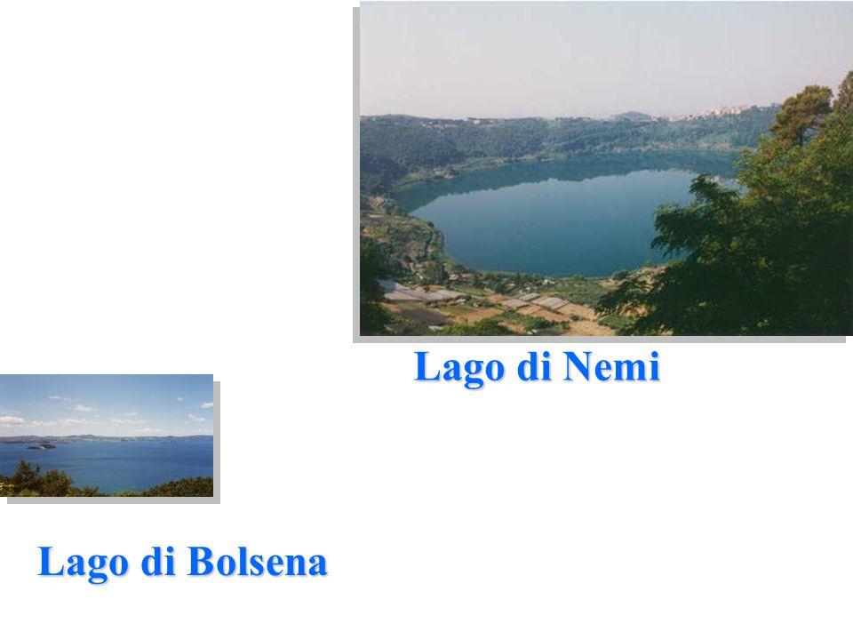 Lago di Nemi Lago di Bolsena
