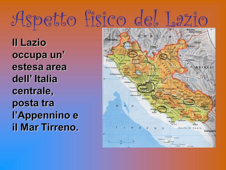 Aspetto fisico del Lazio