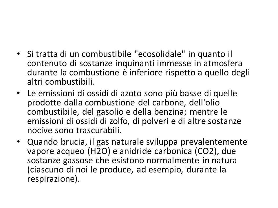 Si tratta di un combustibile ecosolidale in quanto il contenuto di sostanze inquinanti immesse in atmosfera durante la combustione è inferiore rispetto a quello degli altri combustibili.