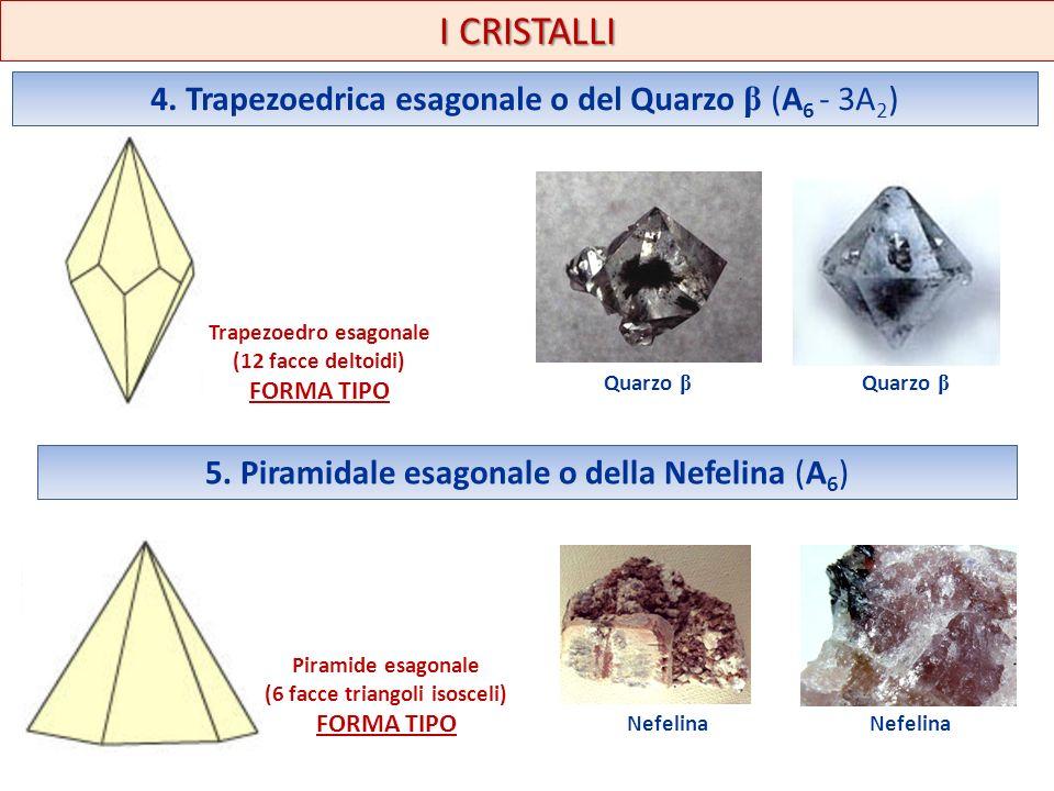 Trapezoedro esagonale (6 facce triangoli isosceli)
