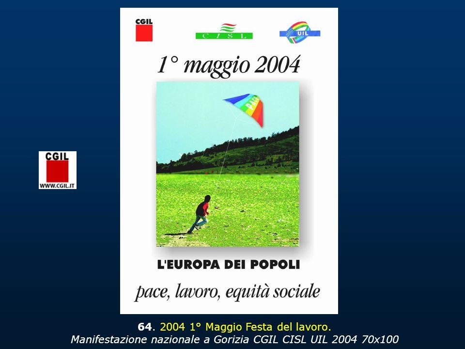 64. 2004 1° Maggio Festa del lavoro