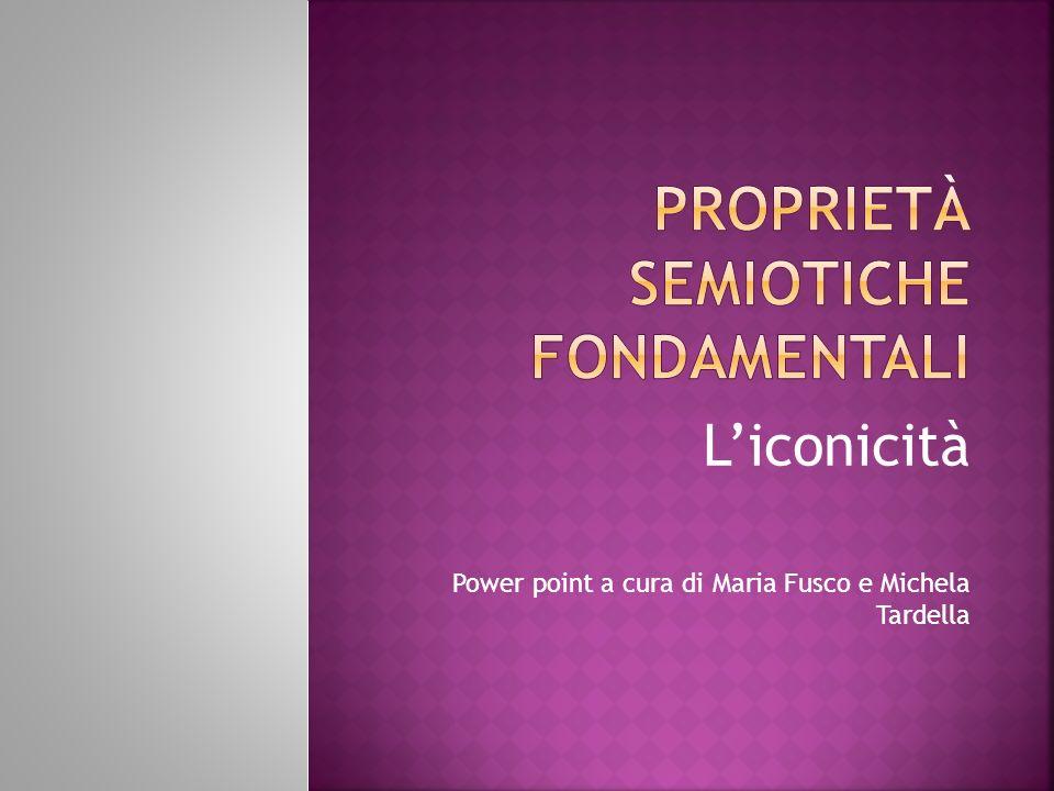 Proprietà semiotiche fondamentali