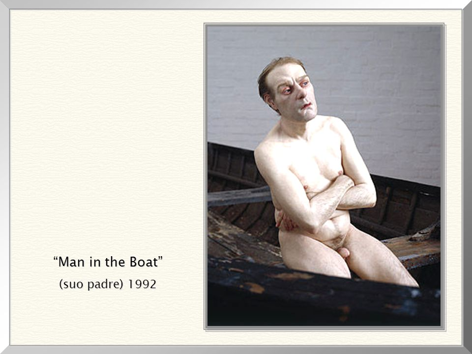 Man in the Boat (suo padre) 1992