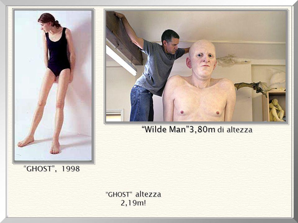 Wilde Man 3,80m di altezza