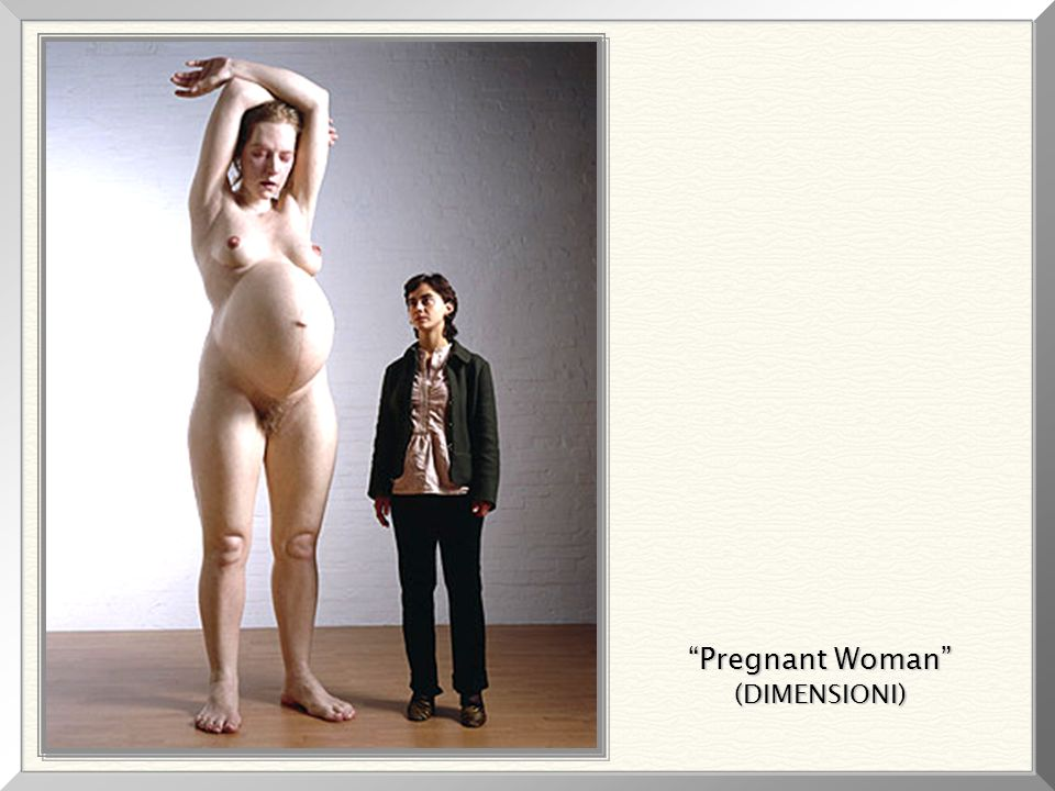 Pregnant Woman (DIMENSIONI)