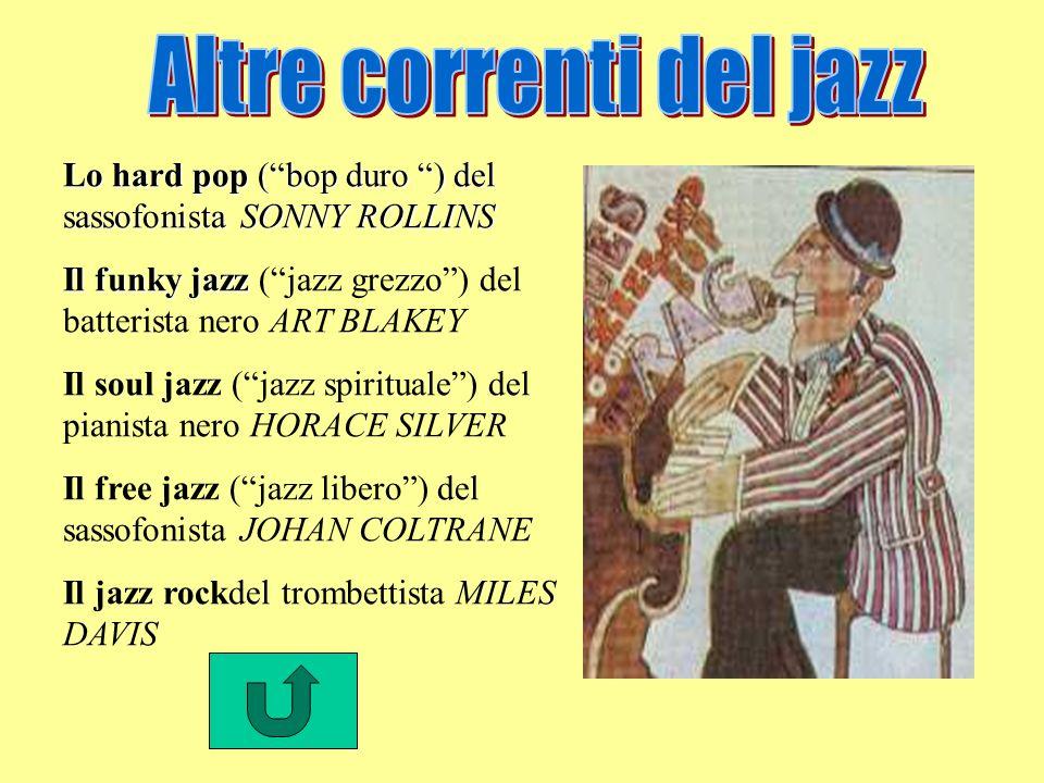 Altre correnti del jazz