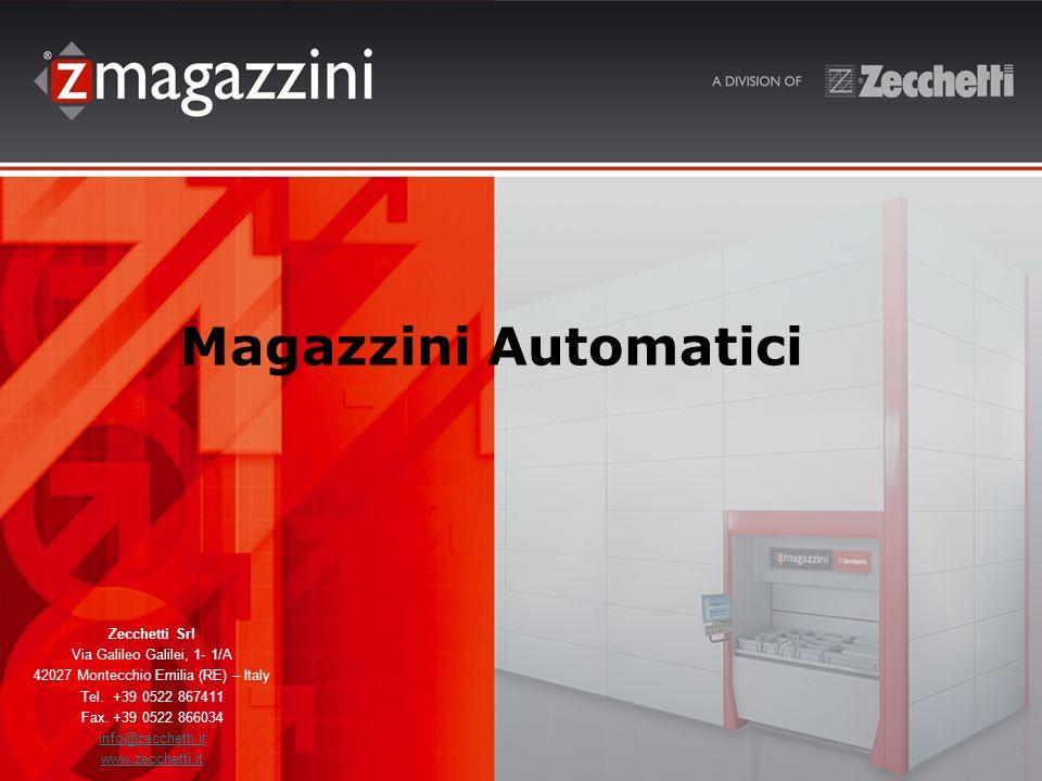 Magazzini Automatici Zecchetti Srl Via Galileo Galilei, 1- 1/A