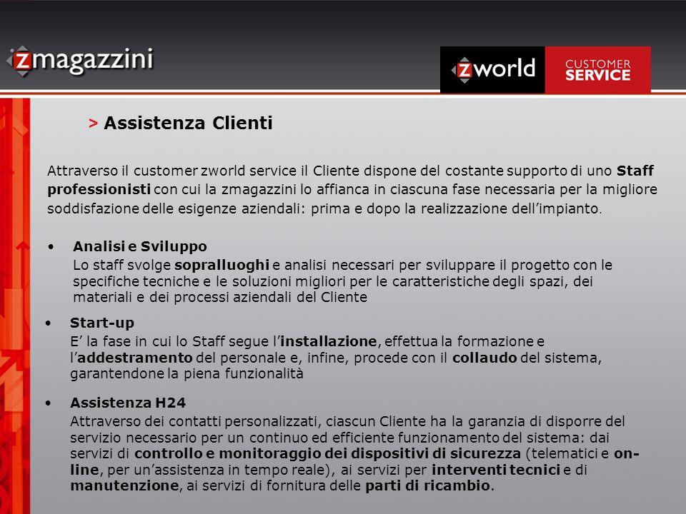 > Assistenza Clienti