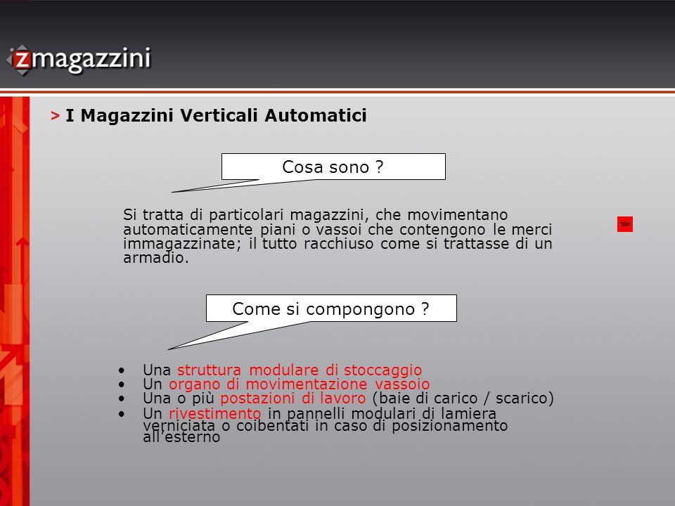 > I Magazzini Verticali Automatici
