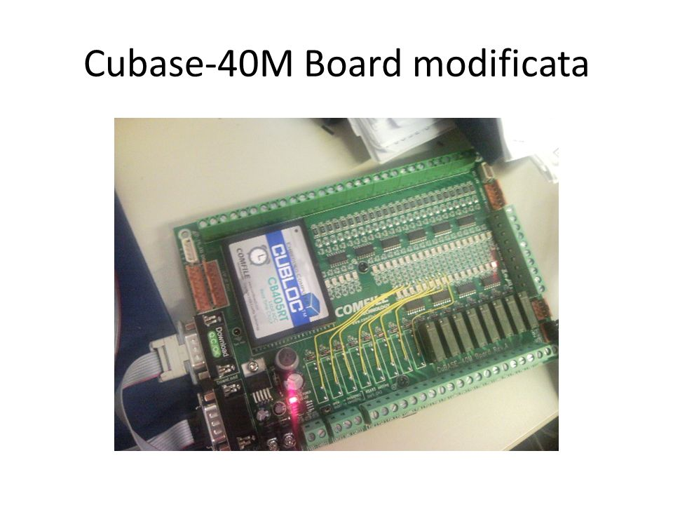 Cubase-40M Board modificata