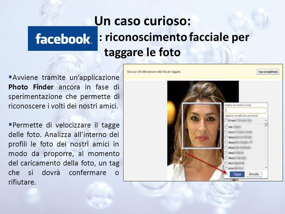 : riconoscimento facciale per taggare le foto