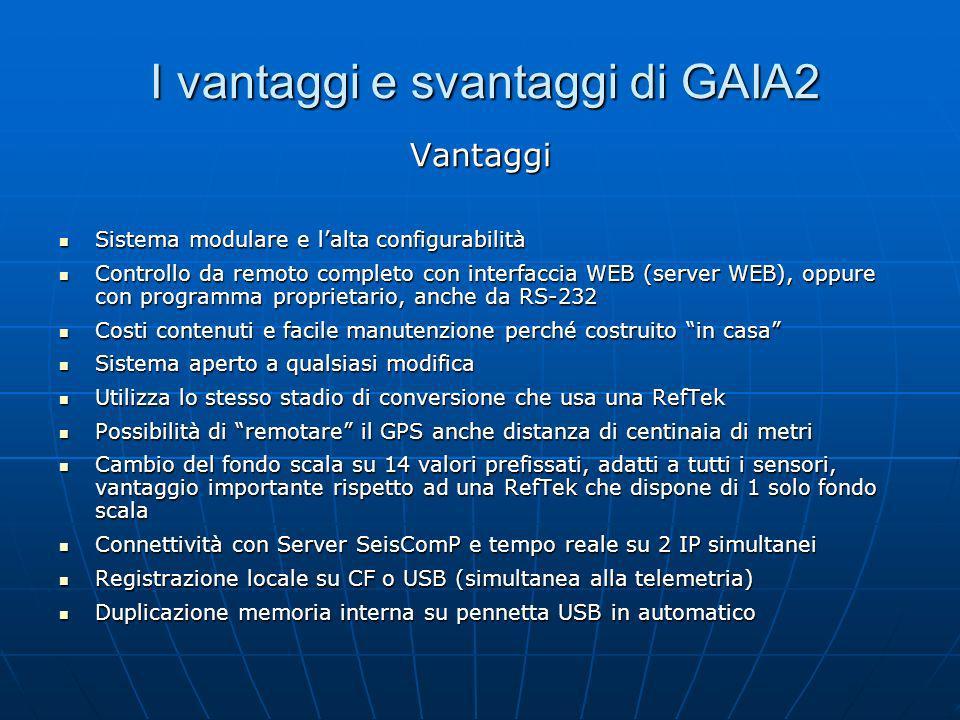 I vantaggi e svantaggi di GAIA2