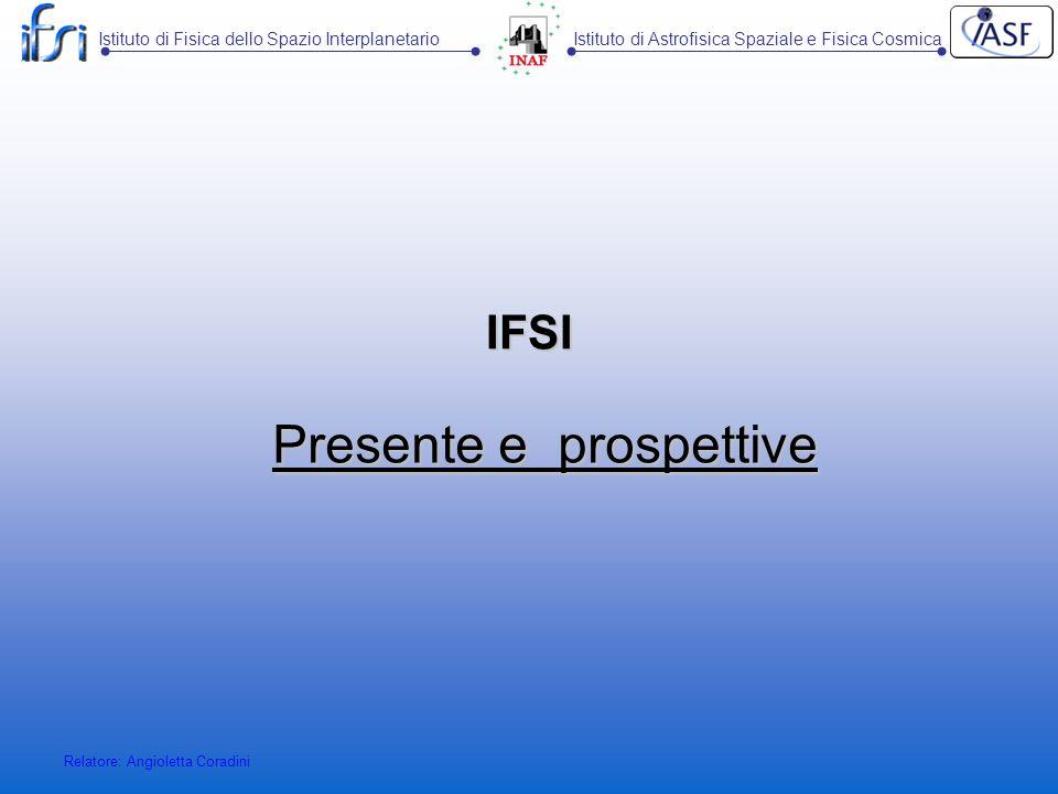 Presente e prospettive