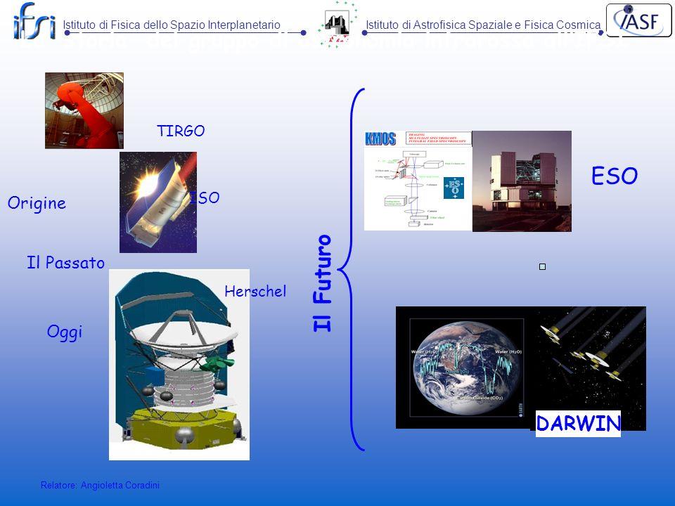 La storia del gruppo di astronomia infrarossa all'IFSI