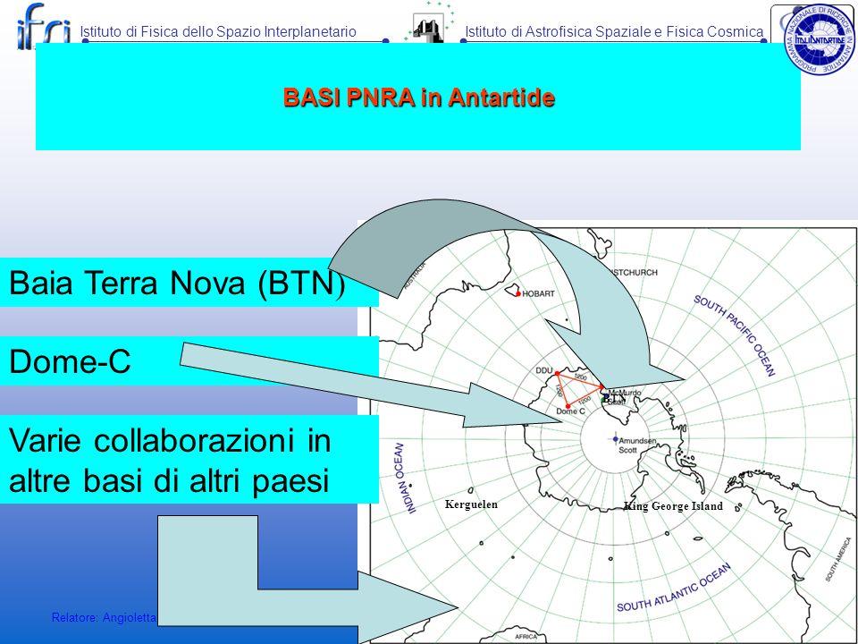 Varie collaborazioni in altre basi di altri paesi