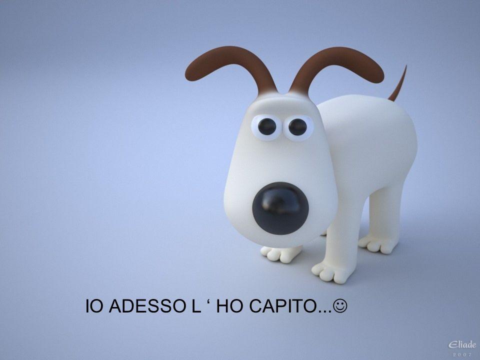 IO ADESSO L ' HO CAPITO...