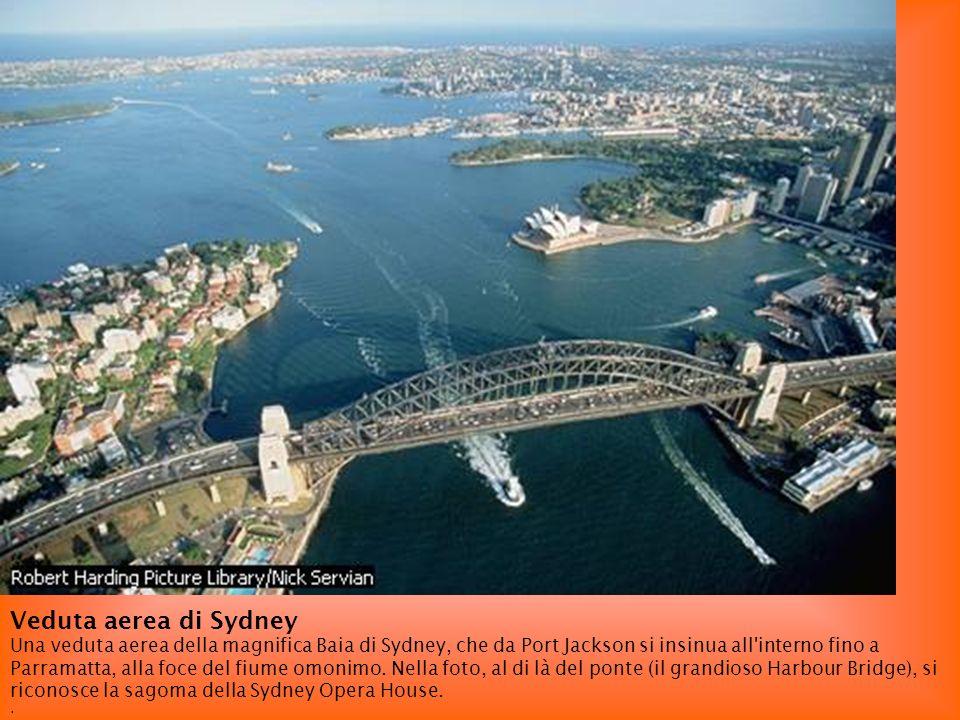 Veduta aerea di Sydney.