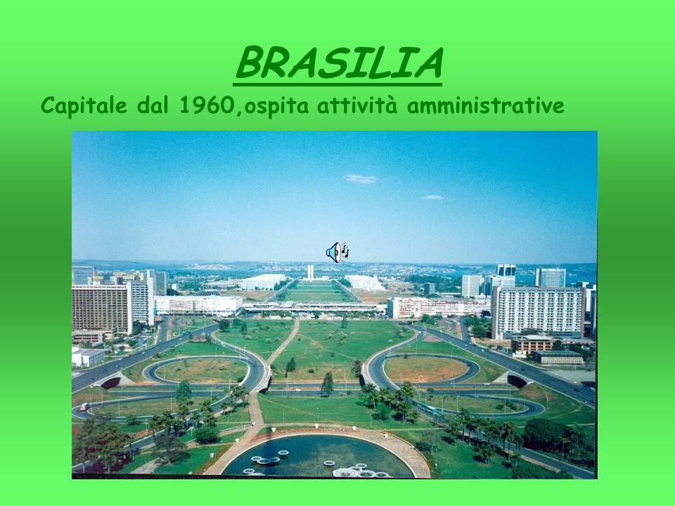 BRASILIA Capitale dal 1960,ospita attività amministrative