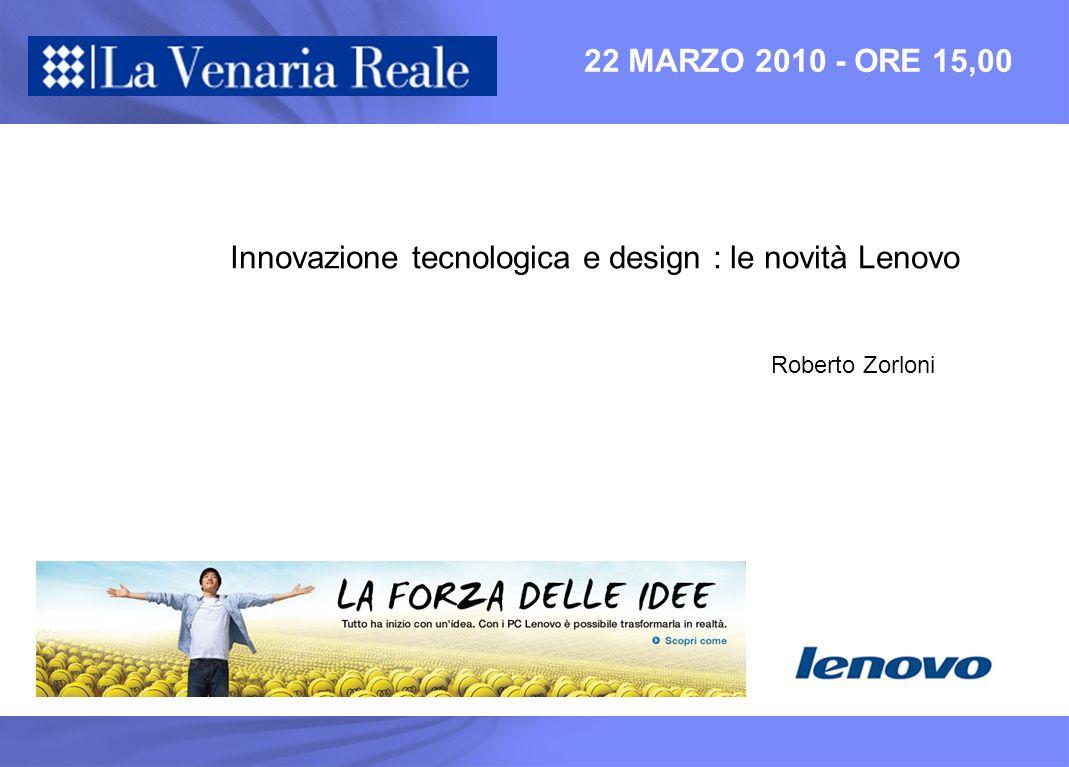 Innovazione tecnologica e design : le novità Lenovo