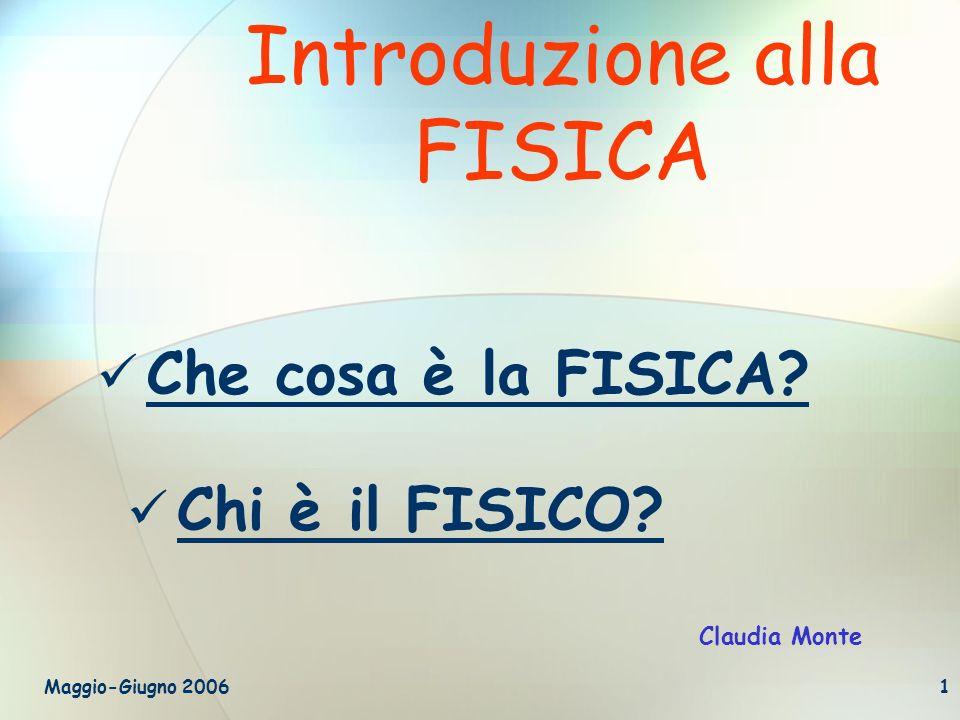 Introduzione alla FISICA